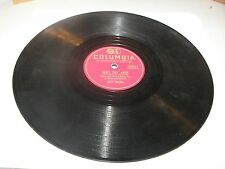 "Lefty Frizzell Don't Stay Away / You're Here So.. 10"" 78 VG Columbia 20911"