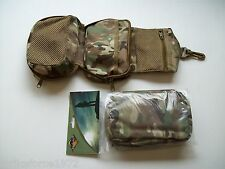 BCB Multicam MTP Folding Wash Bag / Small Medic Pouch - Zip Closure Bag