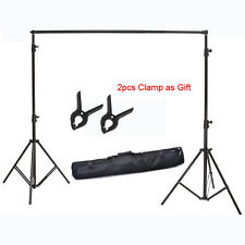 2x2M 6.5*6.5FT Photography Studio aluminum alloy Backdrop Stand Tripod Holder