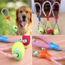 Rope Braided Ball Dog Chew Toys Puppy Cotton Chewing BalI Indestructible Dog Toy