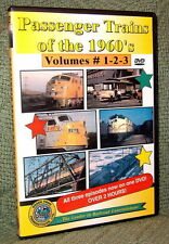 "20063 TRAIN VIDEO DVD ""PASSENGER TRAINS OF THE 1960'S"" NH,L&N,SOUTHERN,SEABOARD"