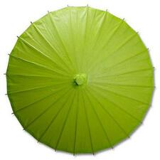 Green Paper Wedding Party Parasol 32in D13398-9 S-3707