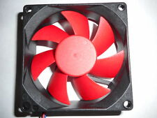 3 PIN 8025 8cm 80mm x 25mm DC 12V Brushless Sleeve Bearing PC Case Cooling Fan