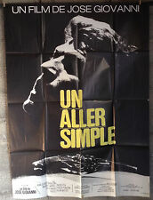 Original movie poster Cinema-Affiche originale-Un Aller Simple 120*160