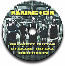 RAMMSTEIN STYLE HEAVY METAL ROCK GITARRE MP3 PLAYBACK TITEL CD ANTHOLOGY LIBRARY