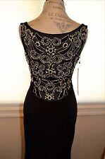 Jovani Dress Black & Jeweled