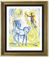 "Salvador Dali Signed/Hand-Numbrd Ltd Ed ""Horse of Triumph""Litho Print (unframed)"