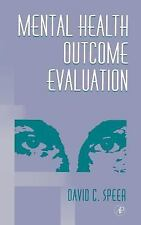 Mental Health Outcome Evaluation-ExLibrary