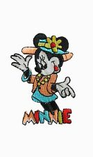 #6780 MINNIE Mouse Embroidery Iron On Applique Patch