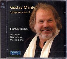 Gustav KUHN: MAHLER Sinfonie Symphony No.9 OEHMS 2CD NEU Filarmonica Marchigiana
