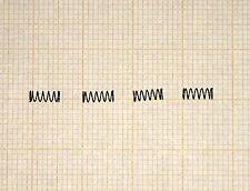 4 x Druckfeder, Länge 6mm, Außen Ø2,2mm, Drahtstärke 0,2mm