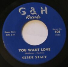 CLYDE STACY - BABY SHAME/YOU WANT LOVE 45 G&H ORIGINAL ROCKABILLY Nice Cond.