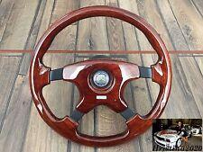 Mercedes Benz MOMO Mahogany Wood Steering Wheel 350MM W123 W124  W126 W201