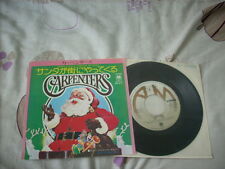 "a941981 Carpenters Japan 7"" Santa Claus Is Coming to Town"