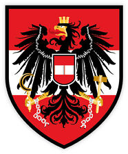 Austria national football team calcio adesivo etichetta sticker 10cm x 12cm