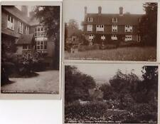 3  St Margaret's School Buxted Nr Uckfield unused RP pcs Bowen Ref B329