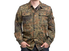 "German military surplus genuine flecktarn camouflage uniform shirt 38 - 40"" long"