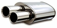 "MagnaFlow 14815 High-Flow Performance Muffler w/ Tips 5x8x14 Oval 2.25"" Inlet"
