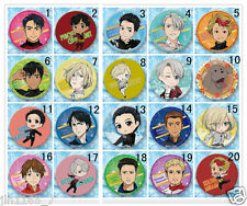 20pcs/set New Anime Yuri!!! on Ice Badge Button Breast pin Brooch Collectibles