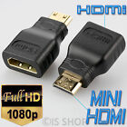Mini HDMI Male To HDMI Female Adapter Converter Connector For Monitor Laptop PC