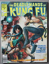 Deadly Hands Kung-Fu #32 1st DAUGHTERS of the DRAGON 1977 IRON FIST Netflix VF+