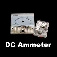 UN3F DC 20A Analog Panel AMP Current Meter Ammeter Gauge 85C1 2.5 Accuracy New