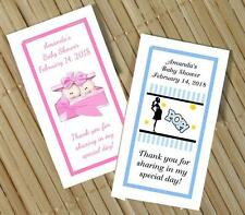 10 CUTE BABY SHOWER PERSONALIZED NOTEPAD FAVORS MANY DESIGNS TWINS POP JUNGLE