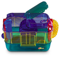 SUPERPET CRITTERTRAIL ONE LEVEL CAGE FOR HAMSTER & GERBILS