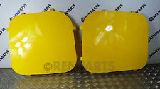 Vauxhall Vivaro II / Trafic III 14- Rear Window Guard Blanks Yellow (870 Miles)