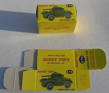 High Quality Reproduction Dinky Military Boxes - 670 Armoured Car