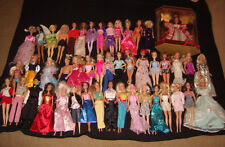 LARGE LOT OF 47 MATTEL BARBIE KEN DOLLS with Clothes Various Years + New Holdiay