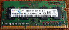 NOTEBOOK Laptop Tablet RAM 1gb SAMSUNG m471b2874eh1 ch9 pc3 10600s-09-10-a1 b7ty