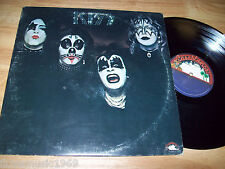 "1974 ""KISS"" NEAR MINT 12"" LP vinyl Casablanca NBLP 7001 Cold Gin Black Diamond"