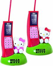 Hello Kitty Intercom Phone Set of 2 - Walkie Talkie Mobile Phone Set