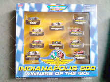Rare Value Pack Micro Machines 1:87 INDIANAPOLIS 500 WINNERS OF THE '60s Limited