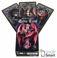ANNE STOKES GOTHIC TAROT CARDS DECK FANTASY ART BY FOURNIER MADE IN SPAIN NEW