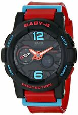 G-Shock Womens BGA180 Glide with Tide Graph Baby-G Series Designer Watch -