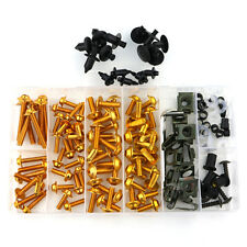 Gold Fairing Bolt Kit Body Screws For Honda CBR600RR CBR900RR CBR1000RR 1100XX