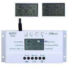 Solar Panel Regulator LCD 30A 12V/24V MPPT Charge Controller &USB Three timer BS