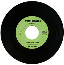 "VICE-ROYS  ""DOWN BEAT BLUES""    60's GARAGE   LISTEN!"