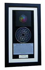 COLDPLAY Head Full Dreams CLASSIC CD Album TOP QUALITY FRAMED+FAST GLOBAL SHIP