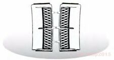 RANGE ROVER L322 03-10 Side Vent Grille Fender Chrome/Black LAND ROVER P-Style