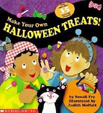 Make Your Own Halloween Treats, Fry, Sonali, Good Book