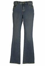 Style & Co 4 Blue Denim Tummy Control Boot Cut Jeans NWT FREE SHIPPING