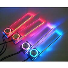 LED Car Interior Decorative Floor Light Lamp Auto Cigarette Lighter Colors Light