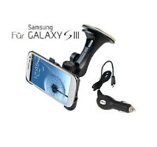 KFZ Sostenedor del coche Soporte para Samsung Galaxy S3 i9300 + Cargador