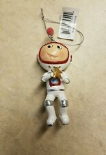 Resin Astronaut in White Suit Holding Star Ornament Midwest CBK New