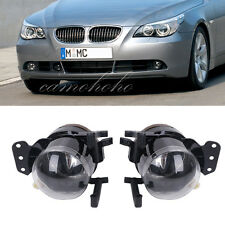 2 For BMW E60 5-Series 2003-2007 Durable Driving Fog Light Lamp Housing Case