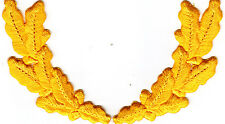 MILITARY - GOLDEN YELLOW SCRAMBLED EGGS/Iron On Embroidered Applique/Trim,Accent