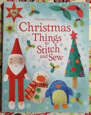 Usborne Christmas Things to Stitch and Sew c2012 NEW PB, We Combine Shipping